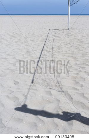 Shadow Of A Volley Net