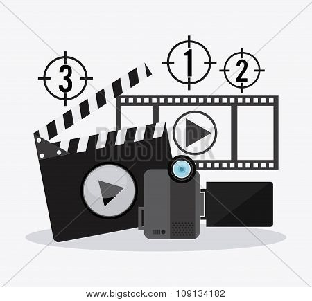 Filmstrip and video camera design