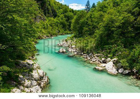 River Soca near Kobarid