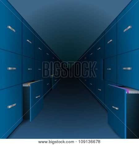 A large archive files