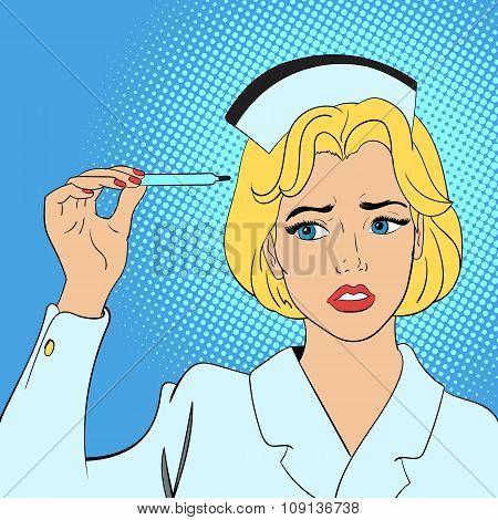 Nurse comics concept