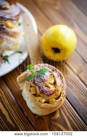 Sweet Rolls With Quince