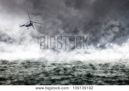 A Helicopter Rescue