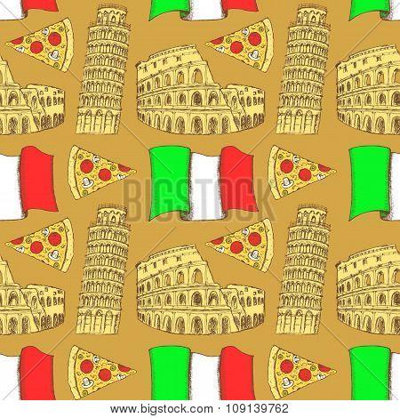 Sketch Italian Pattern