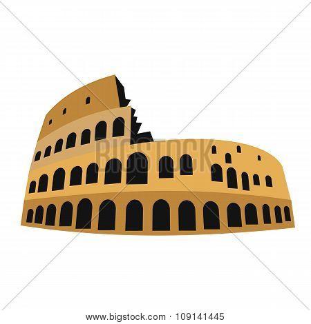 Coliseum in flat