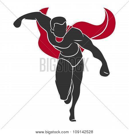 Superhero push forward