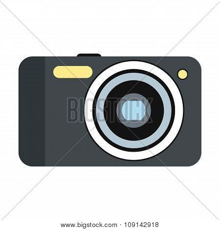 New camera flat icon