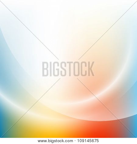 Colorful light gradient abstract background