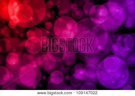 Purple And Red Bokeh Abstract Light Background