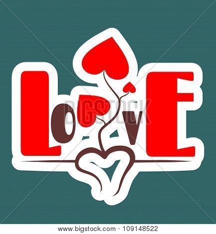love relative background