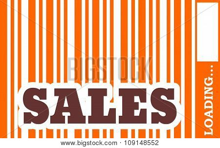 Sales word build in bar code