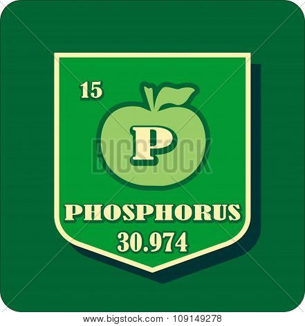 Nutrition facts apple phosphorus