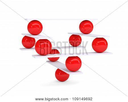 Red balls, balance
