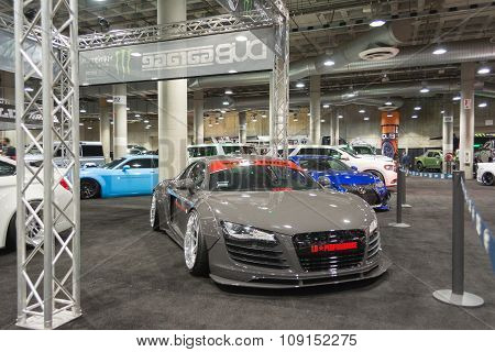 Audi Tuning On Display