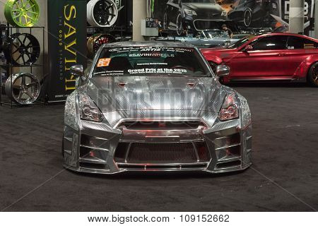 Nissan Gt-r Tuning On Display