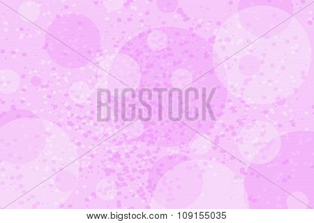 Abstract Background With Colorful Pink Circles