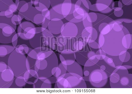 Abstract Background With Colorful Purple Circles