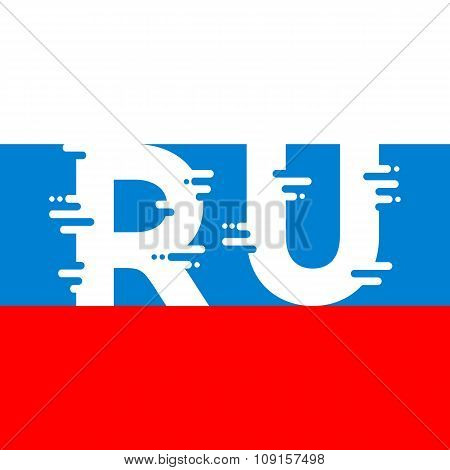 RU sign / icon / logo