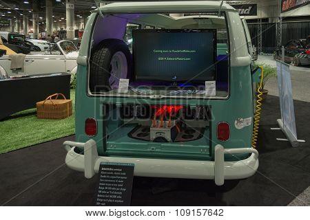 Electric Volkswagen Vintage Classic