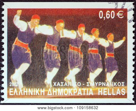 GREECE - CIRCA 2002: A stamp printed in Greece from the