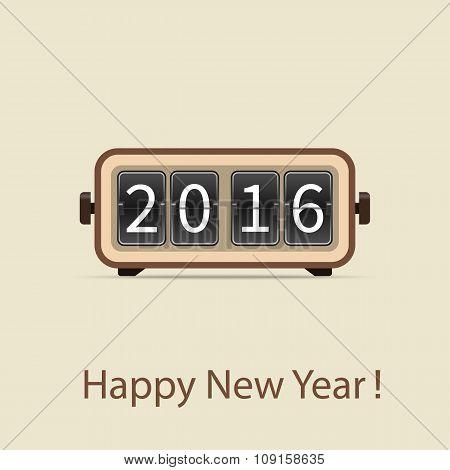 2016 Mechanical Flip Clock.