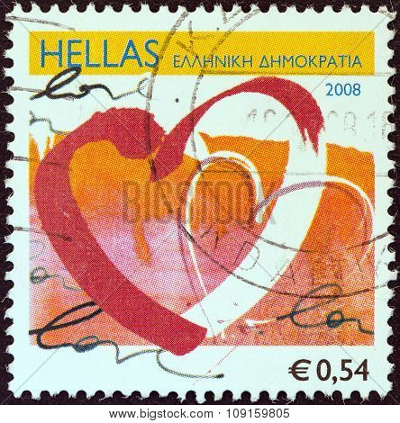 GREECE - CIRCA 2008: A stamp printed in Greece from the