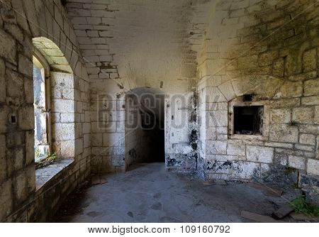 Thurmfort Gorazda fortress inner room
