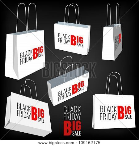 Abstract Creative concept vector gift tag isolated on black background. For Web and Mobile Applicati