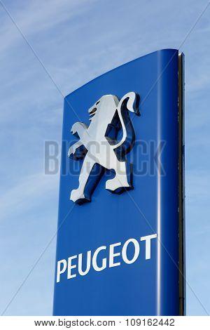 Peugeot sign