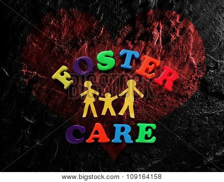Foster Care Heart
