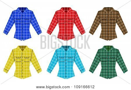 Lumberjack check shirt lumberjack old fashion vector patterns. Red, black, white check old fashion lumberjack shirt. Trendy hipster lumberjack shirt vector. Fashion  lumberjack cloth texture