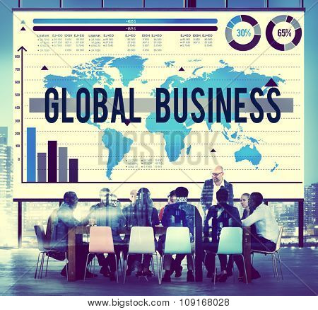 Global Business International Start Up Growth Concept