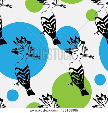 Birds pattern, arts