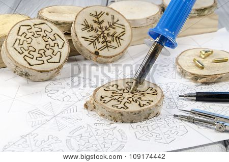 Hand-made Christmas Decorations
