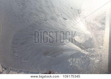 Frost in the window