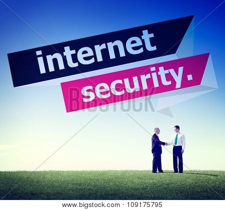 Internet Security Protection Phishing Prevent Protect Concept