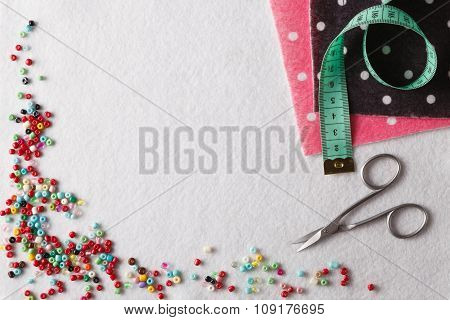 Promotional Place With Leisure Needlework Symbol