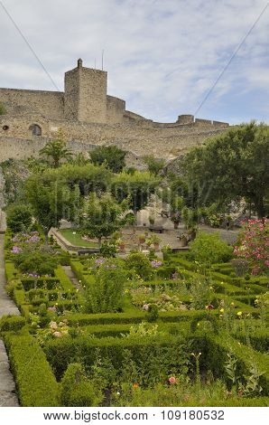 Gardens In Front Of The Castle