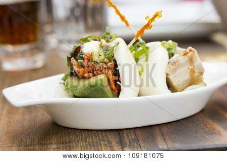 Korean Steamed Bun