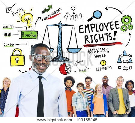 Employee Rights Employment Equality Job People Leadership Concept