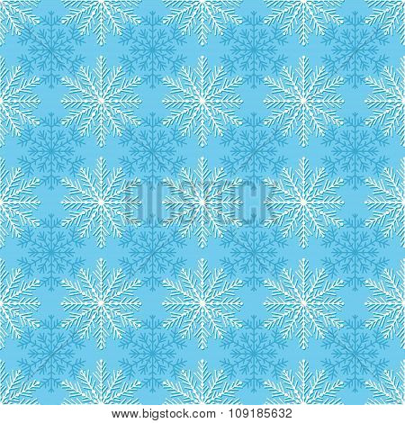 Seamless winter texture.
