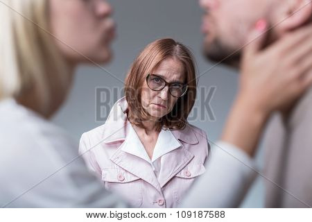 Woman Suffering From Motherly Love