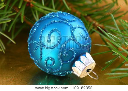 Christmas Blue Ball