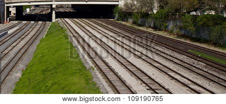Photo Of The Multiple Railroad Ways