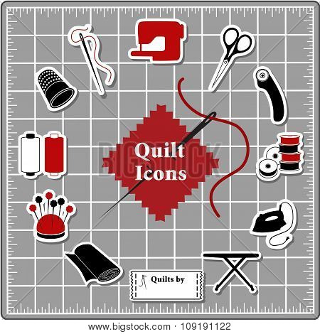 Quilting Stickers