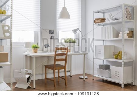 Work Place In New Apartment
