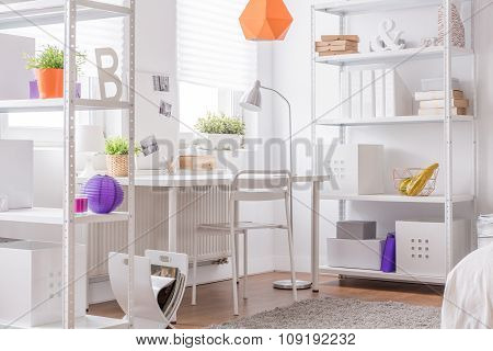 Cosy White Design Room