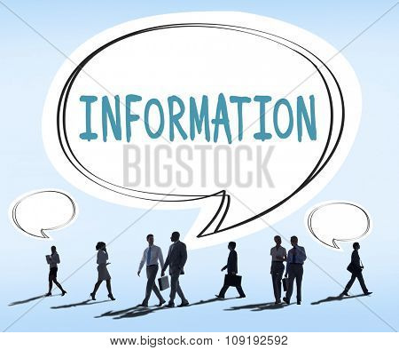 Information Info Research Sharing Media Concept