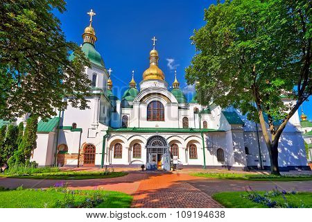 Sofia Cathedral In Kiev