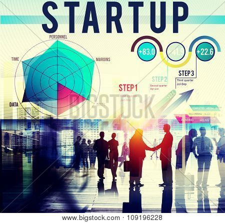 Startup Business plan Planning Strategy Concept